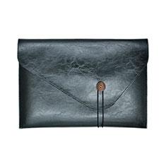 Sleeve Velvet Bag Leather Case Pocket L23 for Apple MacBook Pro 15 inch Black