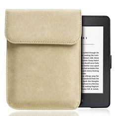Sleeve Velvet Bag Slip Case S01 for Amazon Kindle Paperwhite 6 inch Gold