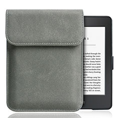 Sleeve Velvet Bag Slip Case S01 for Amazon Kindle Paperwhite 6 inch Gray