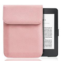 Sleeve Velvet Bag Slip Case S01 for Amazon Kindle Paperwhite 6 inch Pink