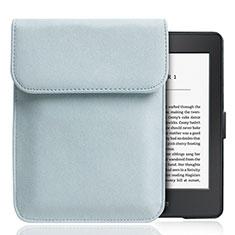 Sleeve Velvet Bag Slip Case S01 for Amazon Kindle Paperwhite 6 inch Sky Blue