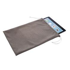 Sleeve Velvet Bag Slip Pouch for Samsung Galaxy Tab S5e Wi-Fi 10.5 SM-T720 Gray