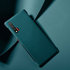 Soft Luxury Leather Snap On Case Cover for Huawei Nova 6 5G Blue
