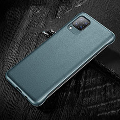 Soft Luxury Leather Snap On Case Cover for Huawei P40 Lite Green