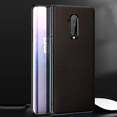 Soft Luxury Leather Snap On Case Cover for OnePlus 7T Pro Brown