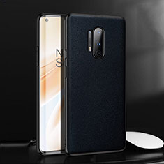 Soft Luxury Leather Snap On Case Cover for OnePlus 8 Pro Blue