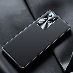 Soft Luxury Leather Snap On Case Cover N07 for Huawei P40 Pro Black