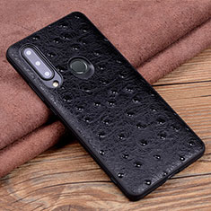 Soft Luxury Leather Snap On Case Cover R02 for Huawei Honor 20 Lite Black