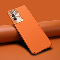 Soft Luxury Leather Snap On Case Cover R02 for Huawei Honor X10 5G Orange