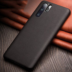 Soft Luxury Leather Snap On Case Cover R11 for Huawei P30 Pro Black