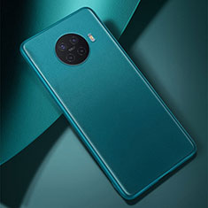 Soft Luxury Leather Snap On Case Cover S01 for Oppo Ace2 Cyan