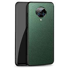 Soft Luxury Leather Snap On Case Cover S02 for Vivo Nex 3 Green