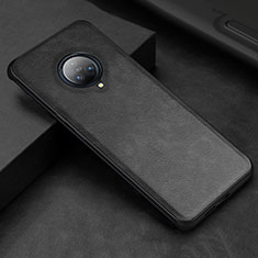 Soft Luxury Leather Snap On Case Cover S03 for Vivo Nex 3 Black