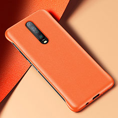 Soft Luxury Leather Snap On Case Cover S06 for Xiaomi Redmi K30 5G Orange