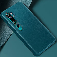 Soft Luxury Leather Snap On Case Cover Z02 for Xiaomi Mi Note 10 Green