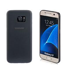 Soft Silicone Gel Matte Finish Case for Samsung Galaxy S7 G930F G930FD Black