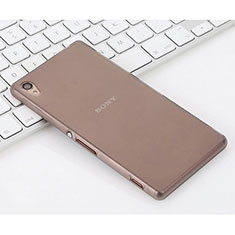 Soft Silicone Gel Matte Finish Case for Sony Xperia Z3 Gray