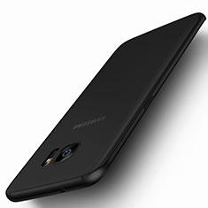 Soft Silicone Gel Matte Finish Cover for Samsung Galaxy S7 Edge G935F Black