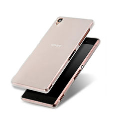 Soft Silicone Gel Matte Finish Cover for Sony Xperia Z3 White