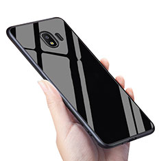 Soft Silicone Gel Mirror Cover for Samsung Galaxy J2 Pro (2018) J250F Black