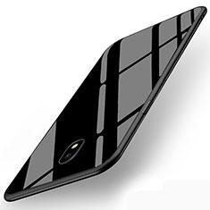 Soft Silicone Gel Mirror Cover for Samsung Galaxy J5 (2017) SM-J750F Black
