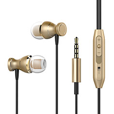 Sports Stereo Earphone Headphone In-Ear H34 for Samsung Galaxy A30S Gold