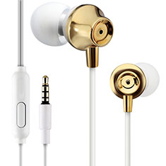 Sports Stereo Earphone Headset In-Ear H21 for Samsung Galaxy A30S Gold