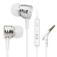 Sports Stereo Earphone Headset In-Ear H24 for Samsung Galaxy A30S Silver