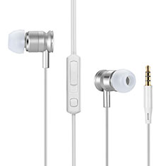 Sports Stereo Earphone Headset In-Ear H31 for Samsung Galaxy A30S Silver