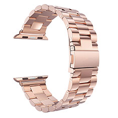 Stainless Steel Bracelet Band Strap for Apple iWatch 3 42mm Rose Gold