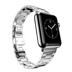 Stainless Steel Bracelet Band Strap for Apple iWatch 5 44mm Silver
