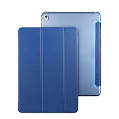 Stands Flip Cover Leather Case for Apple iPad Pro 9.7 Blue