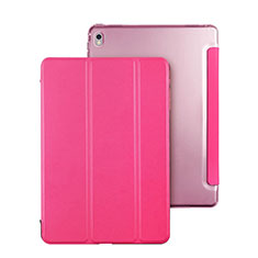 Stands Flip Cover Leather Case for Apple iPad Pro 9.7 Hot Pink