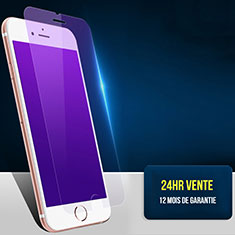 Tempered Glass Anti Blue Light Screen Protector Film B01 for Apple iPhone 8 Blue