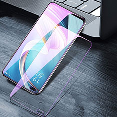 Tempered Glass Anti Blue Light Screen Protector Film B01 for Oppo Reno4 Z 5G Clear