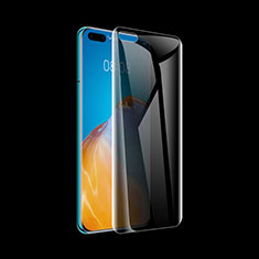Tempered Glass Anti-Spy Screen Protector Film for Huawei P40 Pro Clear