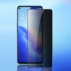 Tempered Glass Anti-Spy Screen Protector Film for Oppo Reno5 5G Clear