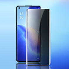 Tempered Glass Anti-Spy Screen Protector Film for Oppo Reno5 Pro 5G Clear