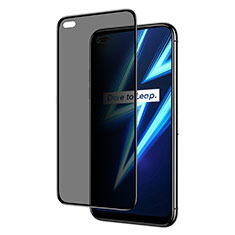 Tempered Glass Anti-Spy Screen Protector Film for Realme 6 Pro Clear