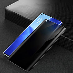 Tempered Glass Anti-Spy Screen Protector Film M01 for Oppo Reno5 Pro 5G Clear