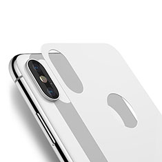 Tempered Glass Back Protector Film B03 for Apple iPhone X White