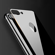 Tempered Glass Back Protector Film B06 for Apple iPhone 7 Plus Black