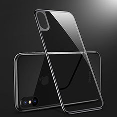 Tempered Glass Back Protector Film B09 for Apple iPhone X Black