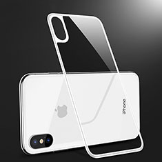 Tempered Glass Back Protector Film B09 for Apple iPhone Xs White