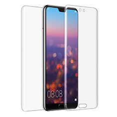 Tempered Glass Screen Protector Front and Back Film for Huawei P20 Clear