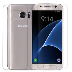 Tempered Glass Screen Protector Front and Back Film for Samsung Galaxy S7 G930F G930FD Clear