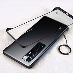 Transparent Crystal Hard Case Back Cover H01 for Xiaomi Mi 10 Ultra Black