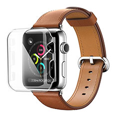Transparent Crystal Hard Rigid Case Back Cover for Apple iWatch 3 38mm Clear