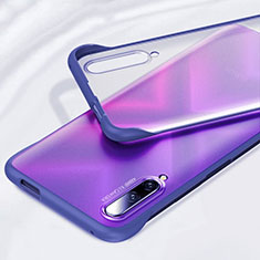 Transparent Crystal Hard Rigid Case Back Cover H01 for Huawei Honor 9X Pro Blue