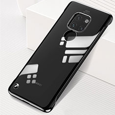 Transparent Crystal Hard Rigid Case Back Cover S01 for Huawei Mate 20 Black